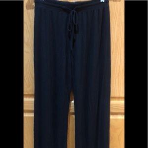Gilligan & O'Malley Black Lounge  Pants Size XS
